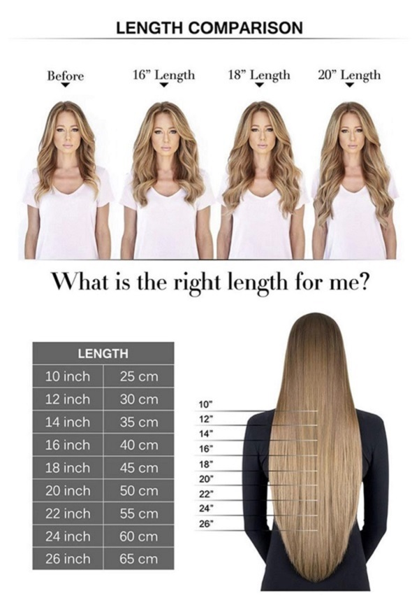 02 18 Inch Weave Hair Extension