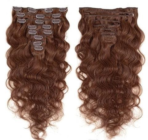 what is clip in weft hair extensions?
