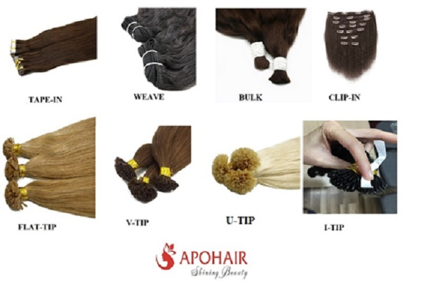 hair extensions from APOHAIR