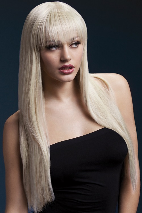 04 Blonde Wig With Bangs