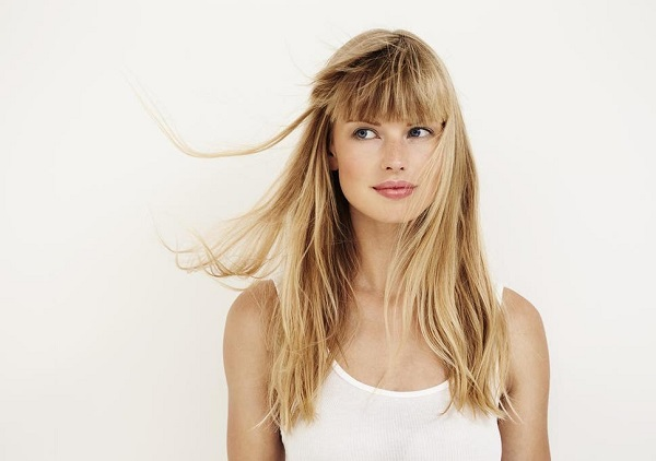 07 Blonde Wig With Bangs
