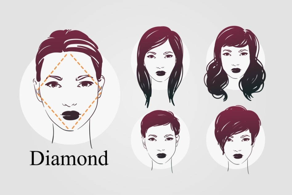 Diamond Shaped Face Which Hairstyles Do You Wear To Be Fabulous